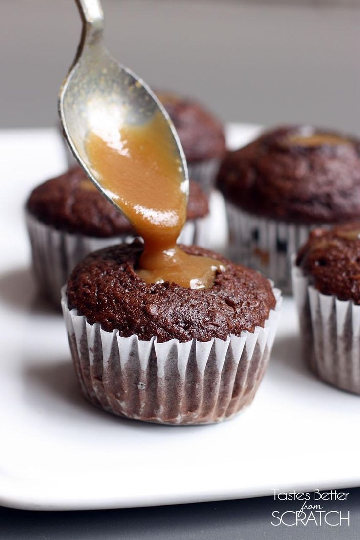 1000 Ideas About Chocolate Cupcakes Filled On Pinterest