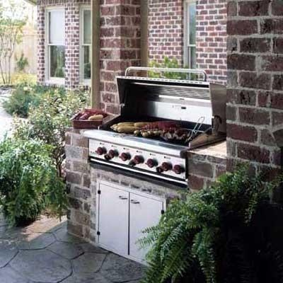 """Wolf 48"""" Gas BBQ Grill from Wolf"""