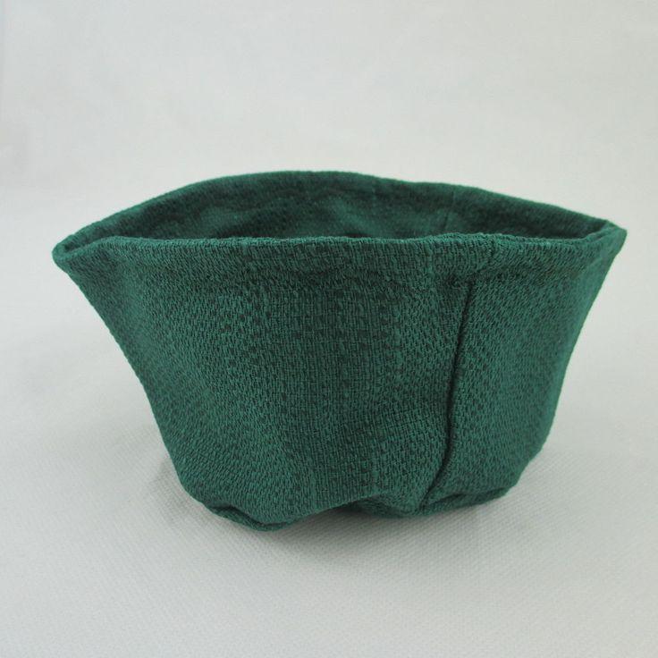 LONGABERGER Coaster Dish ACO Ivy Green Basket Liner #longabergerbaskets #baskets