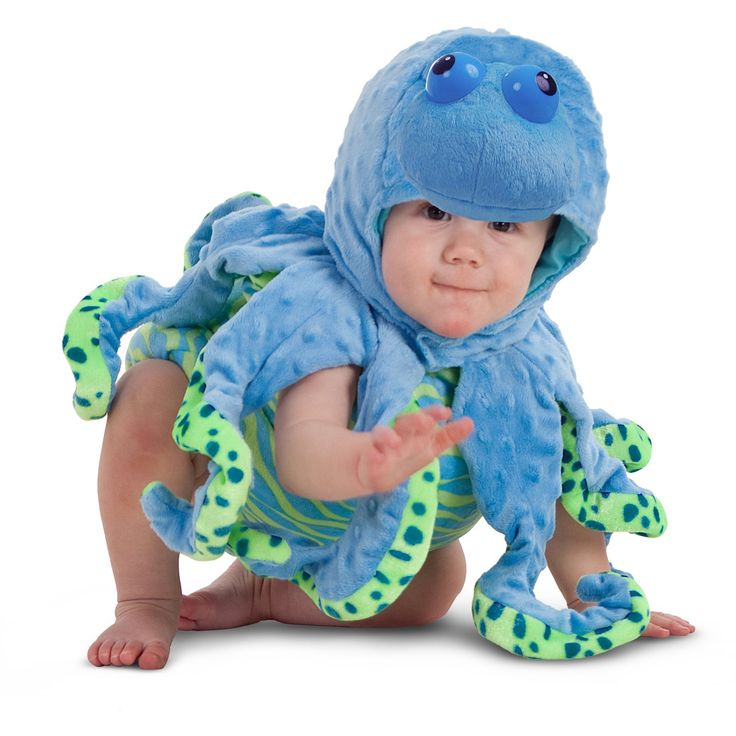 Morris Costumes Halloween Outfit Ocean Octopus Toddler 18 Months/2 Toddler. 100% Polyester.