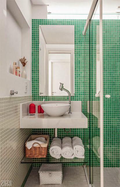 Jurnal de design interior - Amenajări interioare : Apartament în culori tari