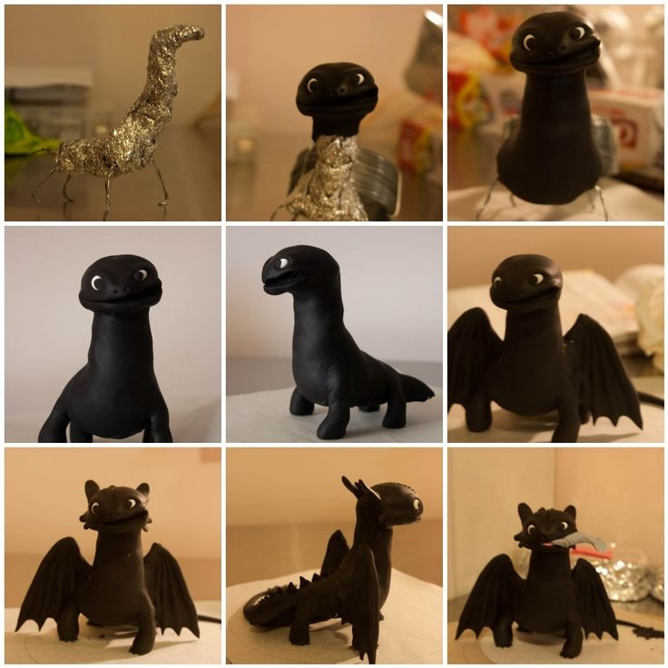 How To Train A Dragon Cake Topper