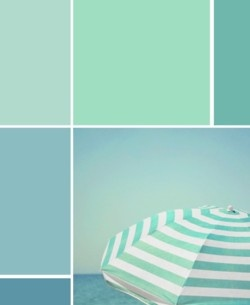 sea greens - hello be my color scene @Katie Schmeltzer Shiver