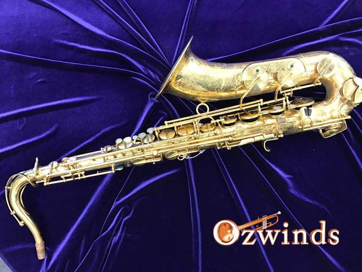 Unique vintage H.Couf 'Superba 1' Tenor Saxophone