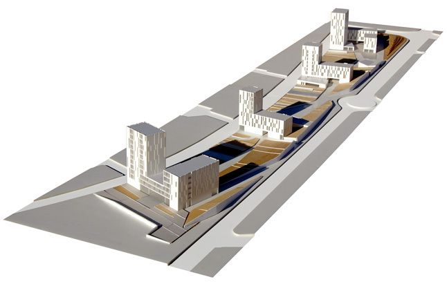 Vivir en un Parque, Vivienda Social / MAB Arquitectura + BMS Progetti Srl