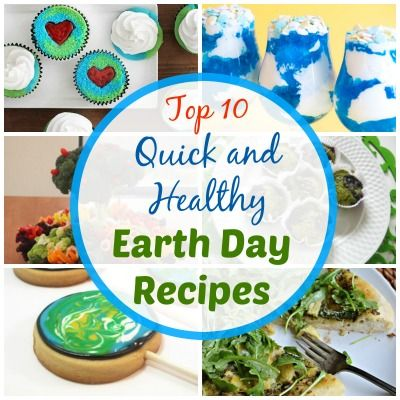 earth day quick healthy recipes