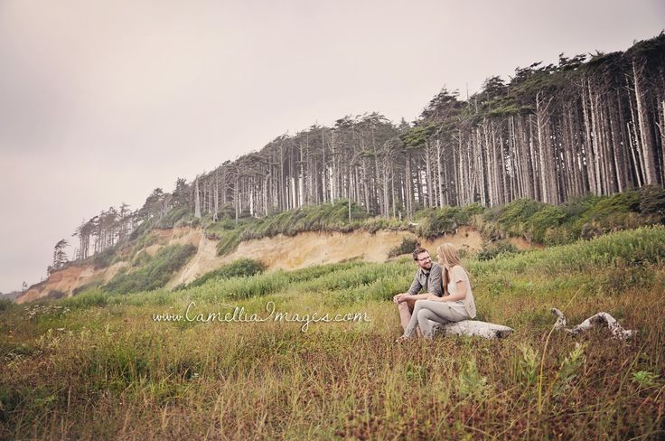Pacific Coast of Washington, Wide Beach Portrait (Camellia, meet Baby: My Beautiful Beach Session with the Turners ~ Tacoma Family Photographer)