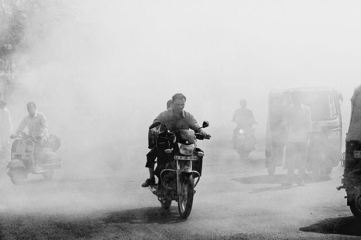 Nirav Patel — Mosquito fogging in Ahmedabad, India.