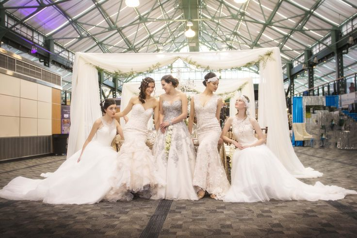 I was recently invited to be the feature photographer at the Modern Bride Show in Victoria BC.  These 5 young models have the wonderful task of wandering about during the course of the convention.