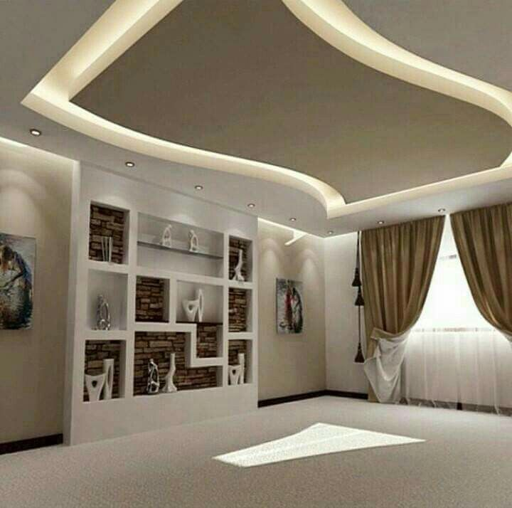 Ceiling Design For Hall: 50 Best Drywall Decorativo Images On Pinterest