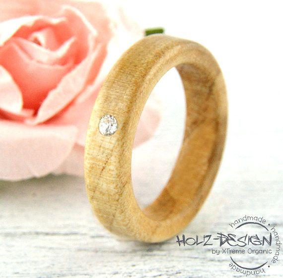 76 besten Holz Ringe Fingerringe Wooden Rings Finger Ring Bilder