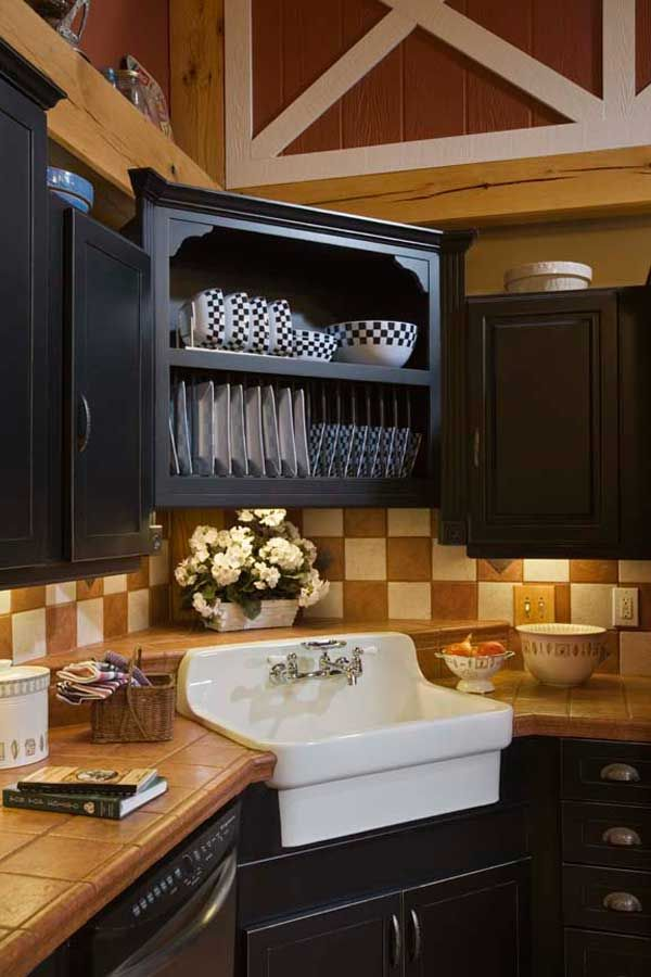 Home Design Options Open Cabinetsblack Cabinetscorner Cabinetskitchen Cabinetscupboardscorner Kitchen Sinkssink Designrustic Kitchenkitchen Ideas