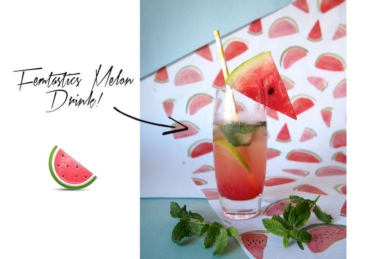 Themenwoche #14 | Sommerparty: Femtastics Melon Drink | Femtastics
