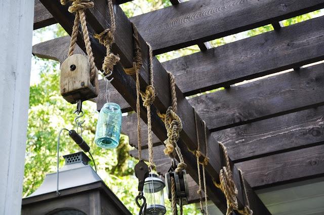 Serendipity.: Pottery Barn Inspired Patio Lantern Project