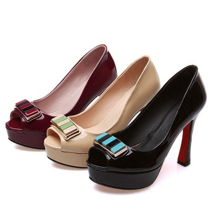38.16$  Watch now - http://aliql7.shopchina.info/go.php?t=32616065393 - Japanese sapato de Salto feminine rubber sole women's pumps bow design red shoes 11cm high heels wedding heels black red apricot  #shopstyle