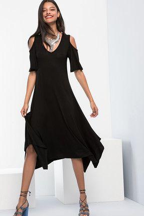 Cool & Sexy Kadın Siyah Omuzları Açık Elbise || Kadın Siyah Omuzları Açık Elbise Cool & Sexy Kadın                        http://www.1001stil.com/urun/3553228/cool-and-sexy-kadin-siyah-omuzlari-acik-elbise.html?utm_campaign=Trendyol&utm_source=pinterest