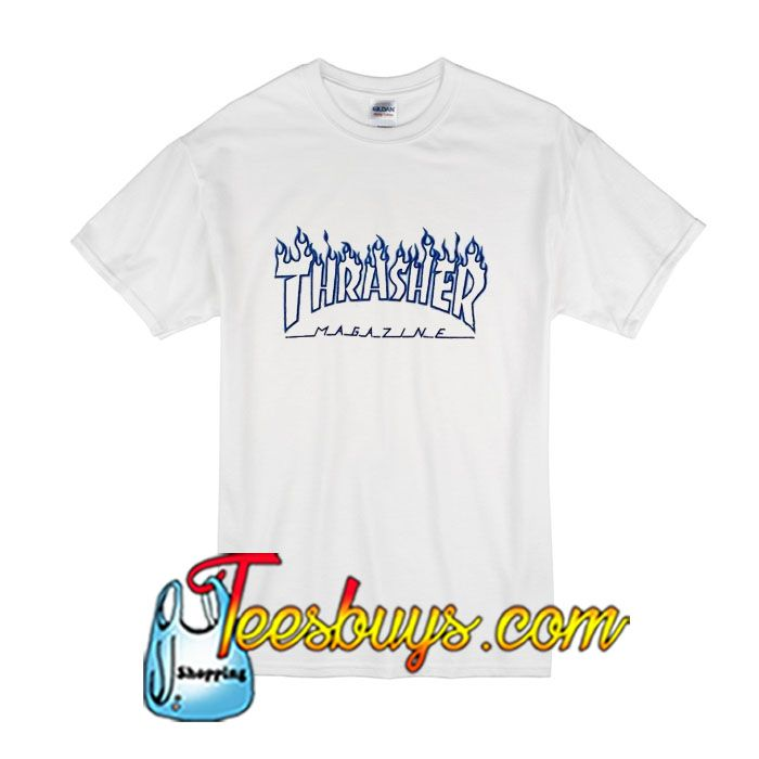 Thrasher Magazine T-Shirt from teesbuys.com This t-shirt is Made To Order, one by one printed so we can control the quality.