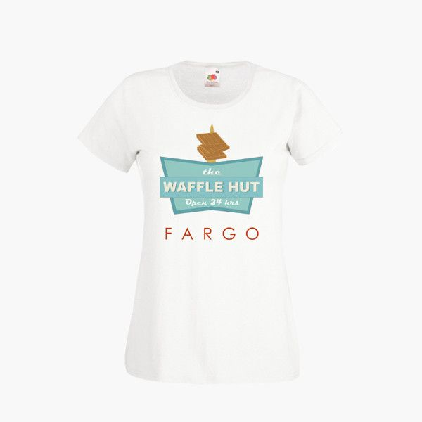 Fargo TV Show The Waffle Hut T SHIRT Womens Girls S-2XL New