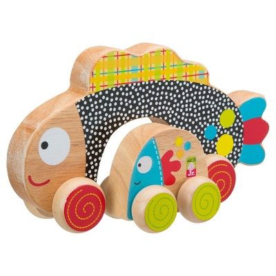 Alex Toys Rolling Fish, Push and Pull Toys