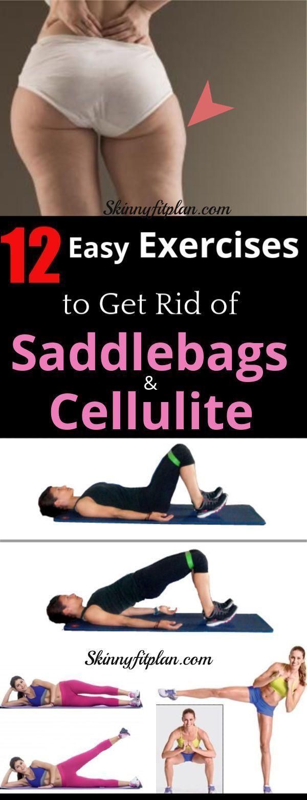 12 beste Übungen, um Satteltaschen und Cellulite zu Hause loszuwerden