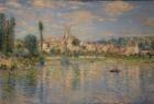 [Vétheuil in Summer: Claude Monet]  해제: 프랑스의 인상파 화가로 유명한 클로드 모네의 작품이다. 자연의 색깔을 잘 표현하려는 노력이 돋보인다. 또한 빛이 비침에 따라 순간 순간 변하는 자연의 풍경도 잘 표현하였다.   감상:아름다운 베퇴유 마을의 정경과 그 앞으로 펼쳐진 잔잔한 호수는 지친 현대인에게 편안한 안정감을 주며 잠시 쉬어가라고 이야기 하는 듯 하다.