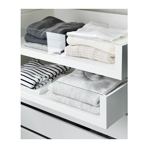 KOMPLEMENT Schublade mit Glasfront - 75x58 cm - IKEA