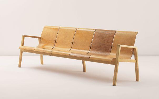 PHILLIPS : UK050311, Alvar Aalto, Bench