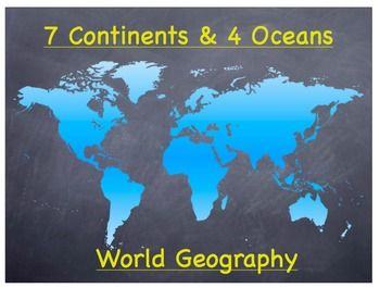 The 25+ best ideas about Major Oceans on Pinterest | Continents ...