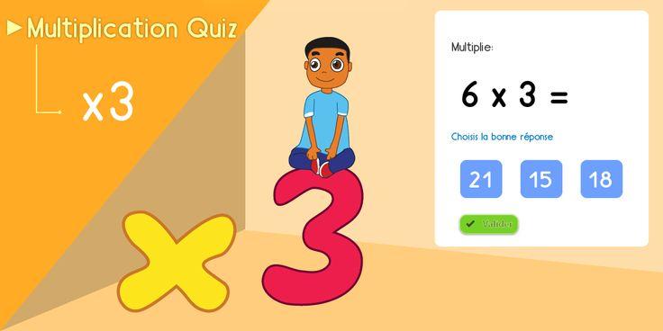 1000 id es sur le th me test de multiplication sur for Multiplication jeux en ligne