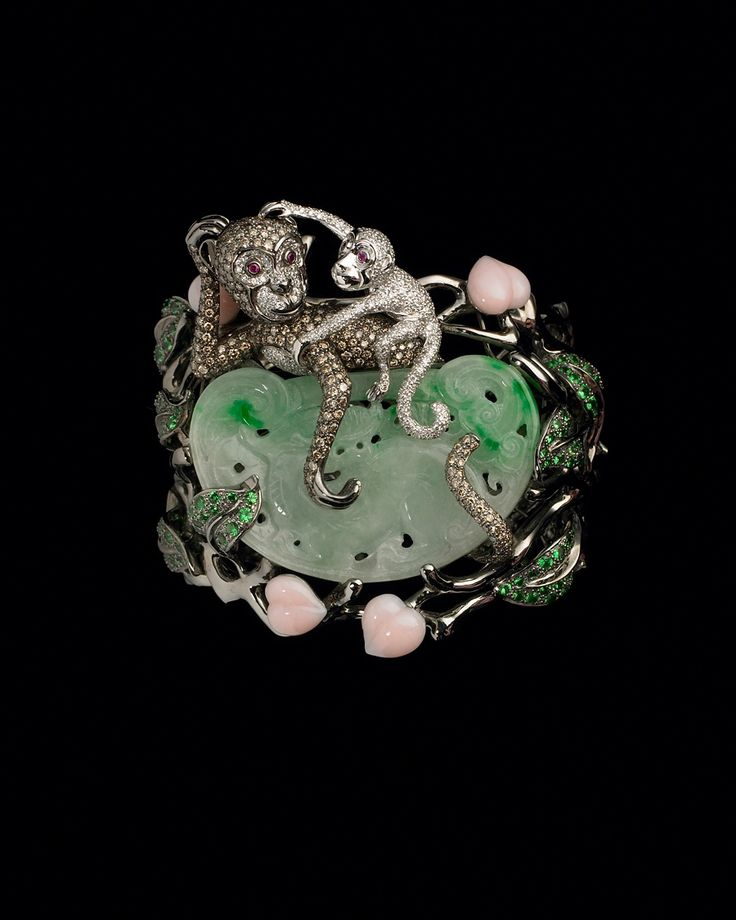 lydia courteille collection | Floral Diamond Monkey Cuff Lydia Courteille Collection CoutureLab com ...