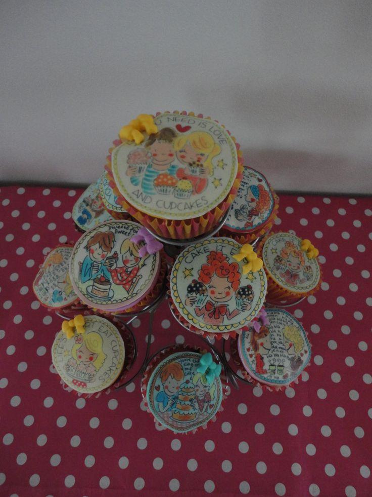 Blond amsterdam cupcakes