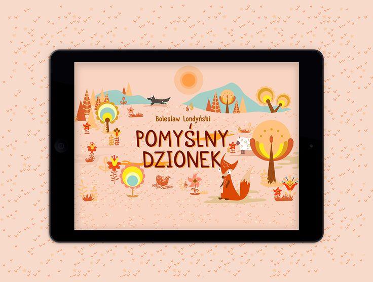 """""""Pomyślny dzionek"""" illustrations on Behance"""