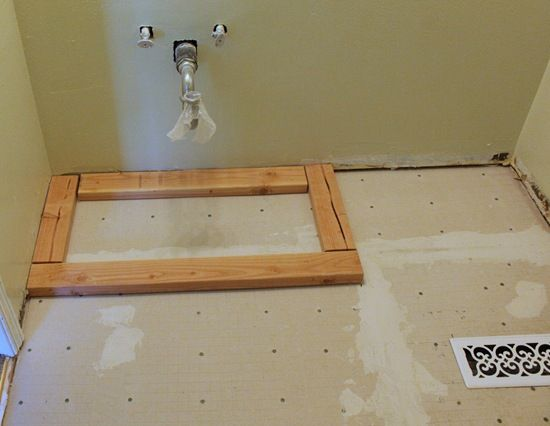 Making A Bathroom Vanity Taller Woodworking Projects Plans