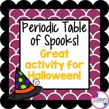 The 25 best atomic number ideas on pinterest atomic units periodic table halloween activity urtaz Gallery