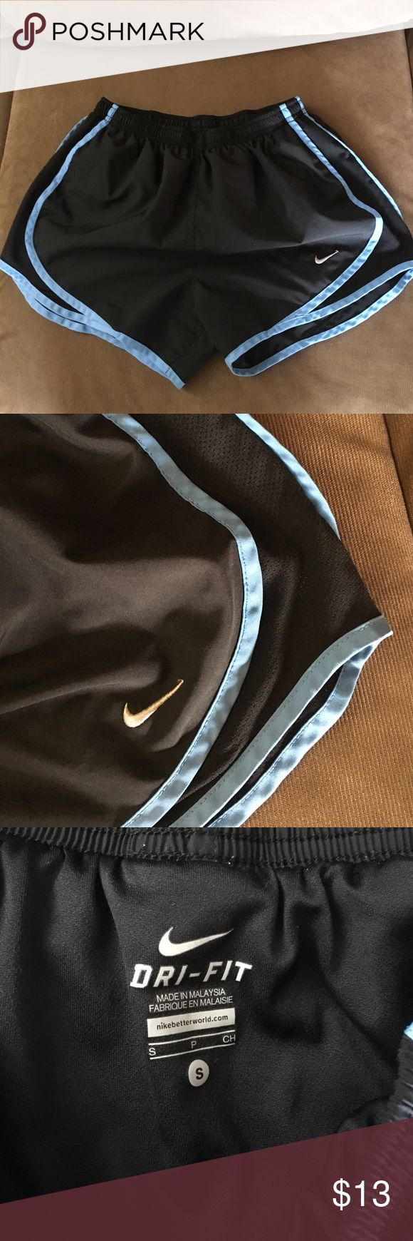 Nike Tempo Shorts Size Small Super cute Tempo Shorts. Fits true to size. No flaws. Worn a couple times. Lowest offer is the price listed. Price firm unless bundled. No trades or Mercari. Nike Shorts