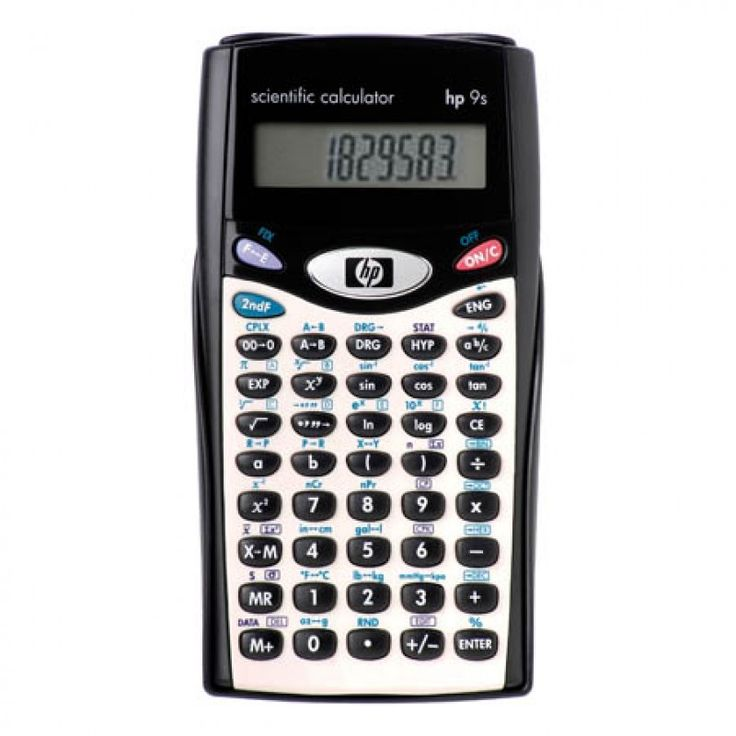 Calculadoras - Calculadora Científica HP 9S