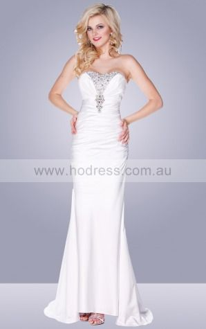 Lace-up Sweep Train A-line Empire Sweetheart Wedding Dresses hlcf1001--Hodress