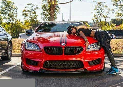 BMW F13 M6 red Vorsteiner