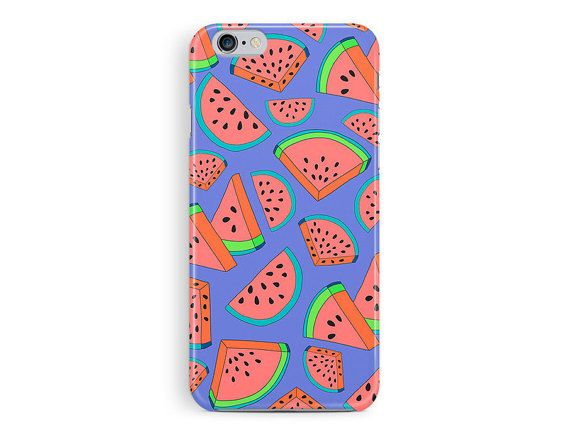 WATERMELON iPhone 5c Case, new iphone 5c case, melon cell case, colourful pattern iphone case, tropical fruit pattern, hipster iphone case