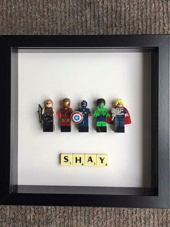 Sur mesure Superhero Lego Frames  Marvel DC Vengeurs