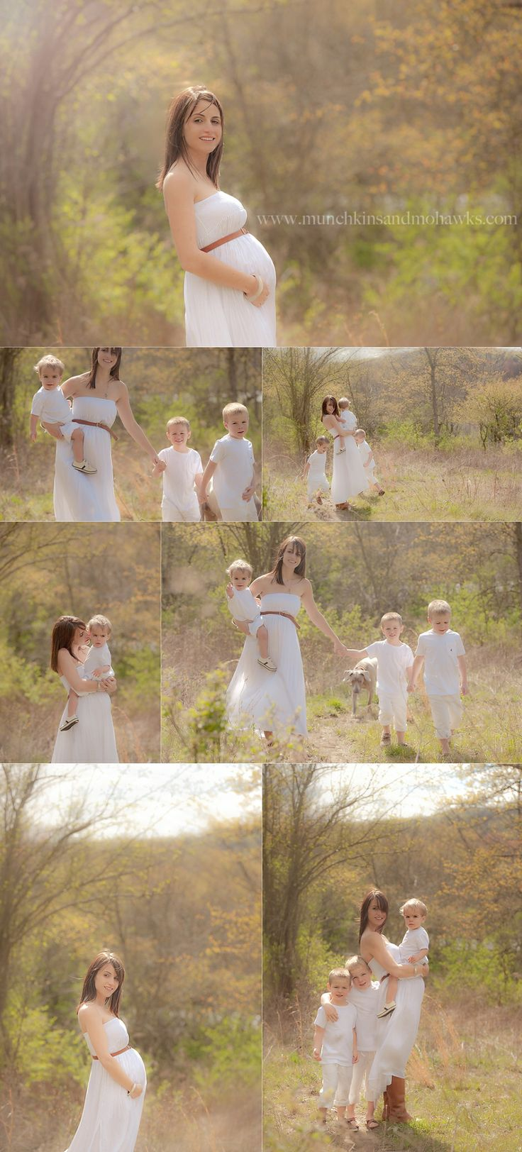 Family maternity - by the fab Munchkins and Mohawks Photography | Portraits by Tiffany Amber