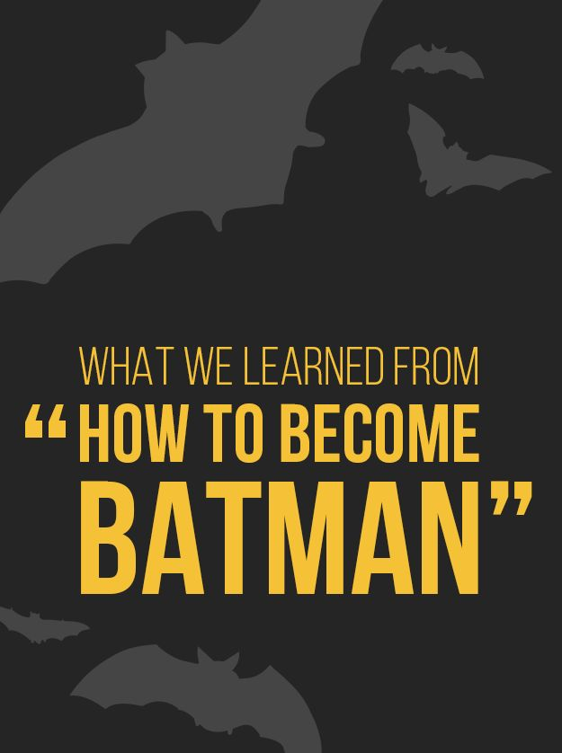 "How To Become Batman, According To ""Invisibilia"""