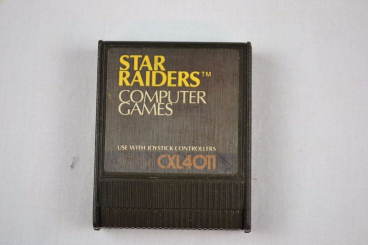 VINTAGE ORIGINAL STAR RAIDERS CXL4011 CARTRIDGE FOR ATARI 400/800  Free Ship US #Atari