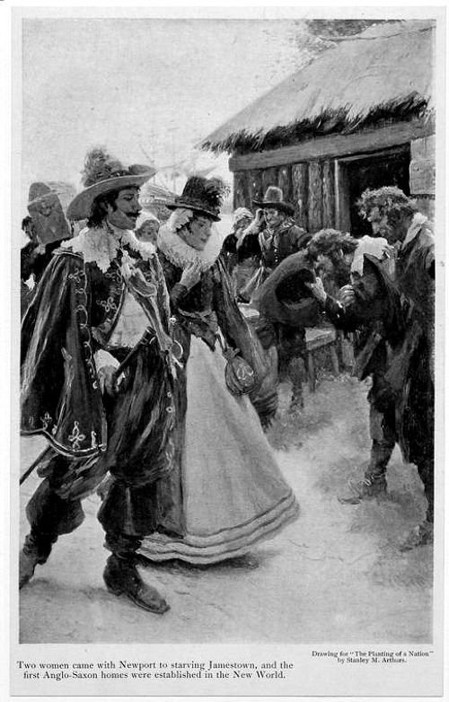 A history of the establishment of jamestown