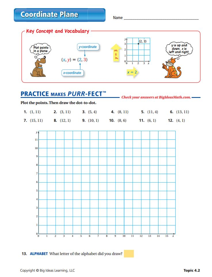 Printables Coordinate Plane Worksheets Middle School 1000 images about integers middle school on pinterest coordinate plane worksheet