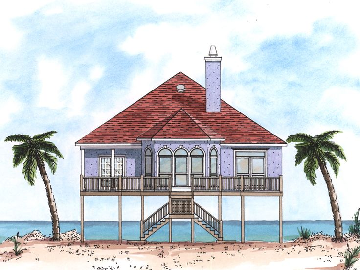 25 best shore house plans images on pinterest country for Shore house plans