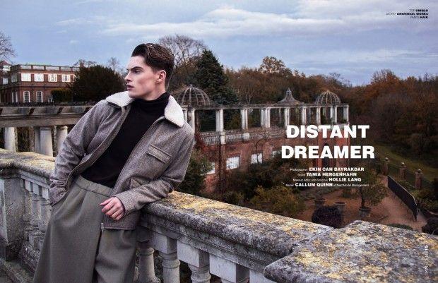 Callum Quinn for MMSCENE Magazine by Ekin Can Bayrakdar