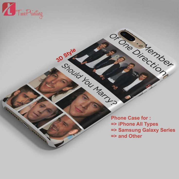 ONE DIRECTION MEMBERS 1D - Personalized iPhone 7 Case, iPhone 6/6S Plus, 5 5S SE, 7S Plus, Samsung Galaxy S5 S6 S7 S8 Case, and Other