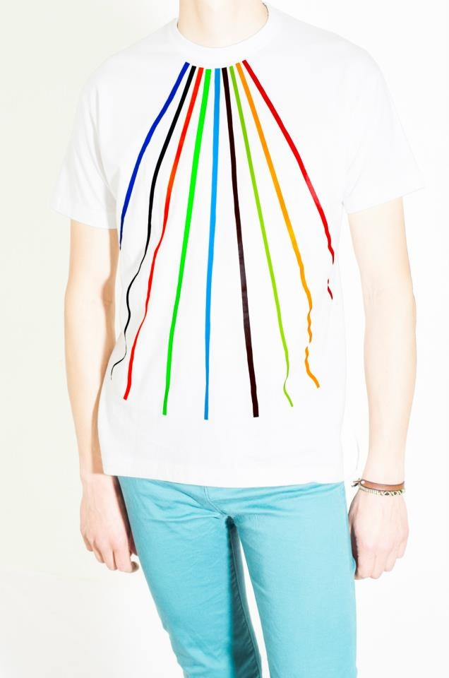 Cotton White T-Shirt Design : Prisma