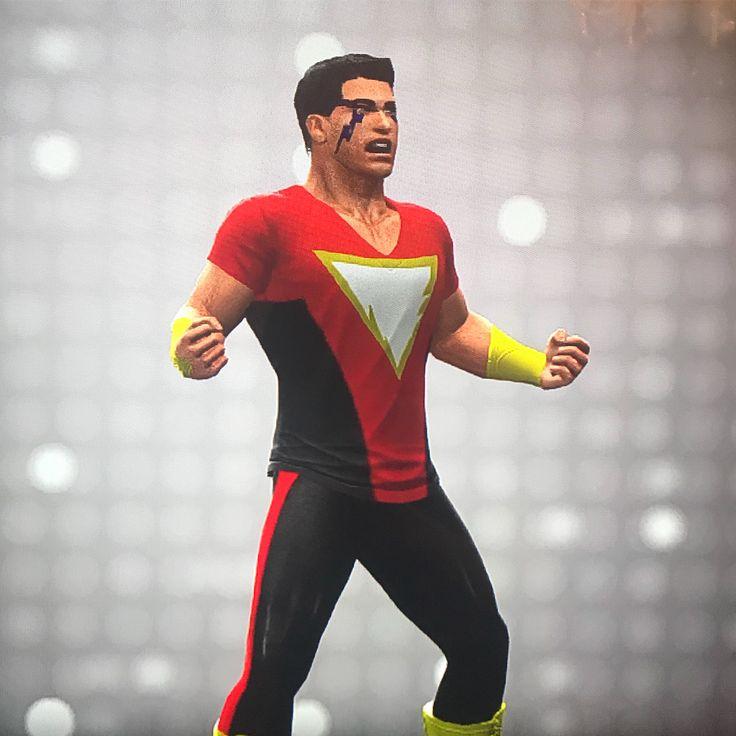 A closer look at KidShazamMade with WWE 2k16. . . . . . . . . #shazam#superman#batman#wonderwoman#theflash#aquaman#cyborg#kidshazam#teentitans#justiceleague#dc#dccomics#dcuniverse#wwe#powerrangers#joker#thejoker#harleyquinn#deadshot#therock#blackadam#shazamfans#legoshazam#lego#capatinamerica#captainmarvel#captainthunder#billybatson#MARVELOUS